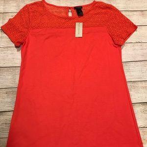 NWT Ann Taylor Short Sleeve Top Size S